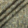 Monza Men's Light Brown 100% Premium Cotton Multicolor Digital Print Shirt Fabric (1.60 M)