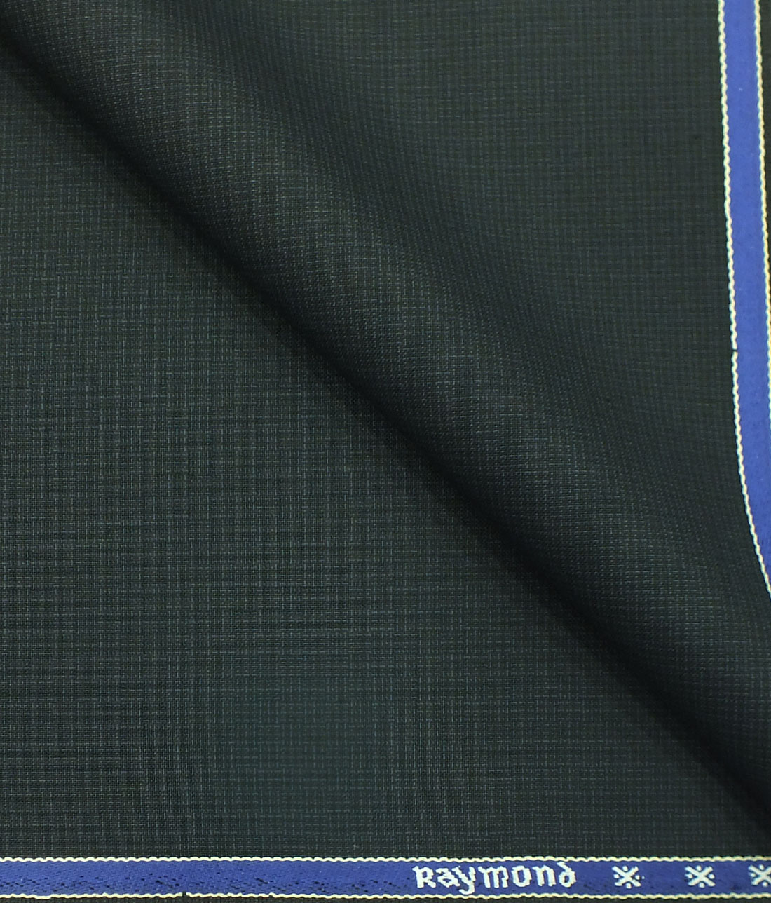 de3518459 Raymond Dark Sea Green Self Design Poly Viscose Trouser or 3 Piece Suit  Fabric (Unstitched - 1.25 Mtr)