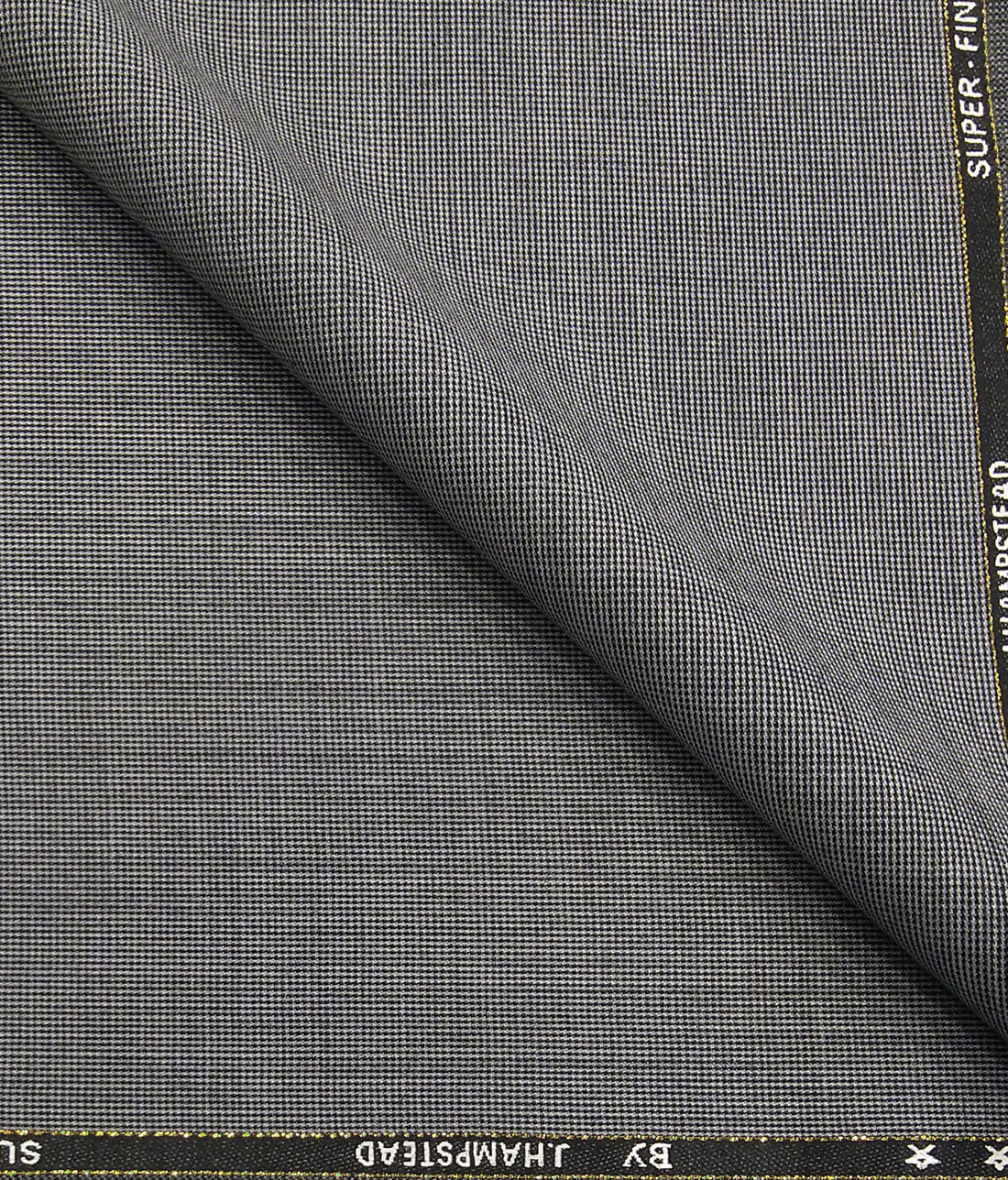 c3fde208a J.Hampstead by Siyaram s Light Grey Structured Super 90 s 35% Merino Wool  Unstitched Fabric · Blazer or Suit