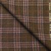 Raymond Mustard Brown Checks 100% Pure Wool Thick Tweed Jacketing & Blazer Fabric (Unstitched - 2.20 Mtr)