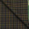 Raymond Brown Checks 100% Pure Wool Thick Tweed Jacketing & Blazer Fabric (Unstitched - 2.20 Mtr)