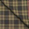 Raymond Dark & Light Brown Checks 100% Pure Wool Thick Tweed Jacketing & Blazer Fabric (Unstitched - 2.20 Mtr)