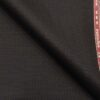 Raymond Techno Stretch Dark Brown Polyester Viscose Stuctured Unstitched Stretchable Suiting Fabric