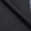 Reid & Taylor Dark Slate Blue Polyester Viscose Self Structured Unstitched Suiting Fabric