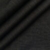 Raymond Men's Jet Black 100% Pure Linen Solid Unstitched Suiting Fabric (3 Meter)