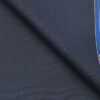 Raymond Aegan Blue Polyester Viscose Self Structured Unstitched Suiting Fabric - 3.75 Meter