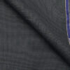 Raymond Aegean Blue Polyester Viscose Houndstooth Strcuture Unstitched Suiting Fabric - 3.75 Meter