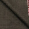 Raymond Coffee Brown Polyester Viscose Self Design Unstitched Suiting Fabric - 3.75 Meter