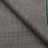 Raymond Grey Polyester Viscose Houndstooth Strcuture Unstitched Suiting Fabric - 3.75 Meter