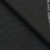 Raymond Dark Blue Polyester Viscose Dotted Structured Unstitched Suiting Fabric - 3.75 Meter