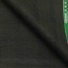Raymond Dark Grey Polyester Viscose Black Self Checks Unstitched Suiting Fabric - 3.75 Meter