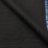 Raymond Blueish Black Polyester Viscose Self Structured Unstitched Suiting Fabric - 3.75 Meter