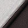 Raymond Men's Dark Purple Checks Poly Viscose Trouser Fabric With Arvind White Checks Cotton Shirt Fabric (Unstitched Combo)