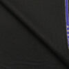 Raymond Men's Solids 45% Merino Wool Unstitched Suiting Fabric (Black)