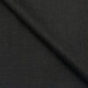 Cadini Men's Wool Super 140s Unstitched 3.25 Meter Self Striped Suit Fabric (Dark Worsted Grey)