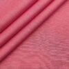 Arvind Men's Cotton Linen Self Design Unstitched Shirt Fabric (Rouge Pink)