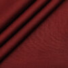 Burgoyne Men's Linen Solids Unstitched Shirting Fabric (Dark Maroon)