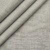 Burgoyne Men's Linen Solids Unstitched Shirting Fabric (Light Grey)