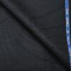 Cadini Italy Men's Wool Striped Super 100's Unstitched Trouser or Modi Jacket Fabric (Dark Blue