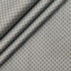 Pee Gee Men's Cotton Printed Unstitched Shirting Fabric (Light Grey)