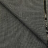Cadini Men's Wool Structured Super 90's Unstitched Suiting Fabric (Grey)