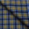 OCM Men's Wool Checks Unstitched Shirting Fabric (Light Brown)
