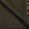 OCM Men's Wool Solids Unstitched Suiting Fabric (Dark Brown)