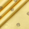 Donzito Men's Cotton Printed 2.25 Meter Unstitched Shirting Fabric (Blonde Yellow)