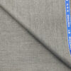 Raymond Men's Wool Solids 3.75 Meter Unstitched Suiting Fabric (Light Worsted Grey)