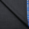 Raymond Men's Wool Checks Super 90's 1.30 Meter Unstitched Suiting Fabric (Dark Navy Blue)