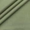 Cadini Men's Cotton Linen Solids 2.25 Meter Unstitched Shirting Fabric (Pista Green)