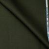 Raymond Men's Cotton Solids Unstitched Trouser Fabric (Dark Green)
