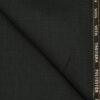 J.Hampstead Men's Wool Checks 1.30 Meter Unstitched Trouser Fabric (Blackish Grey)