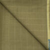 J.Hampstead Men's Wool Checks 1.30 Meter Unstitched Trouser Fabric (Fawn Beige)