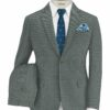 Absoluto Men's Terry Rayon Structured 3.75 Meter Unstitched Suiting Fabric (Silver Grey)